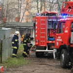 Pożar wbudynku mieszkalnym przy ul.Lipowej