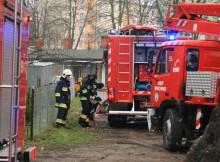 Pożar budynku ul. Lipowa Wronki