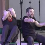Dni Wronek: Kabaret Świerszczychrząszcz nascenie amfiteatru