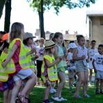 Zumba wparku: Dzieciom upał niestraszny