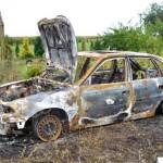 Podpalił samochód byłej żony. Trafił doaresztu