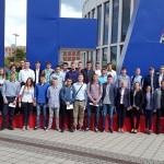 Uczestnicy Samsung Labo naTargach IFA wBerlinie