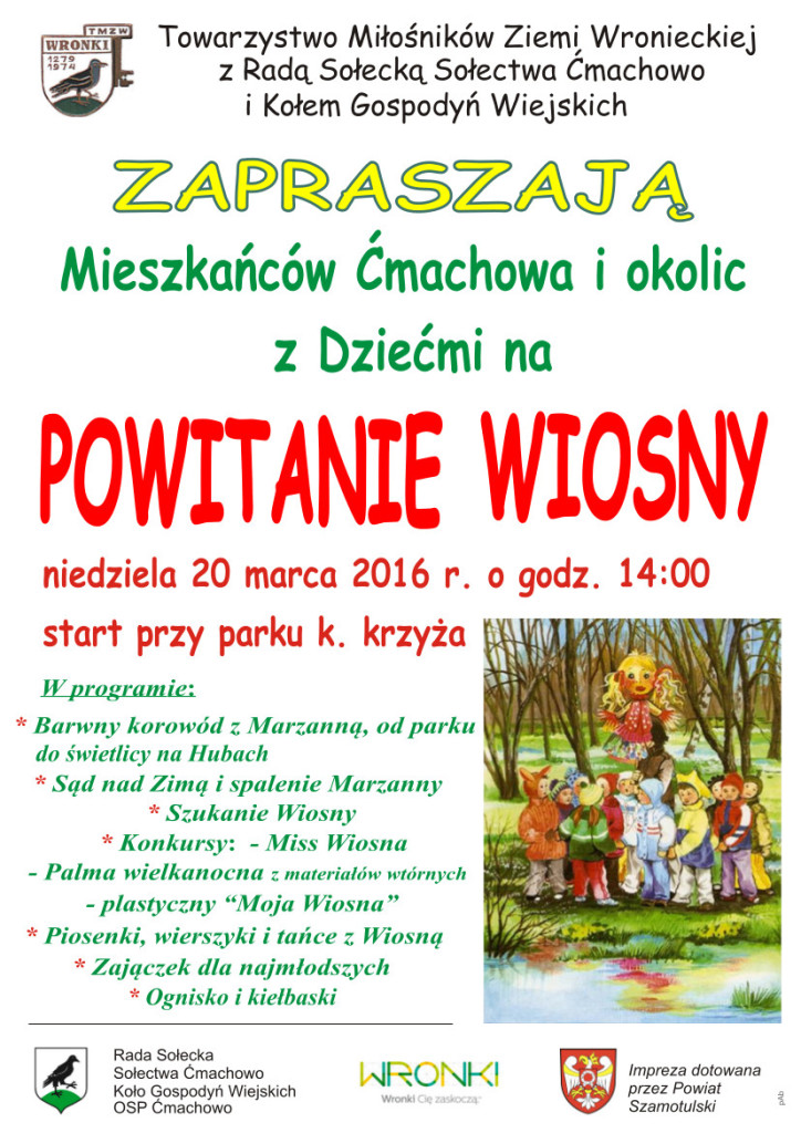 Powitanie Wiosny W ćmachowie Wroniecki Bazar