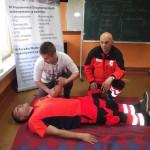 Ratownicy medyczni szkolili trenerów piłkarskich