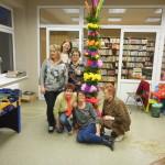 Wielkanocna palma wbibliotece wChojnie