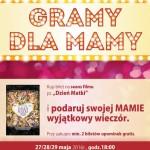"""""""Gramy dla mamy"""" wewronieckim kinoteatrze"""