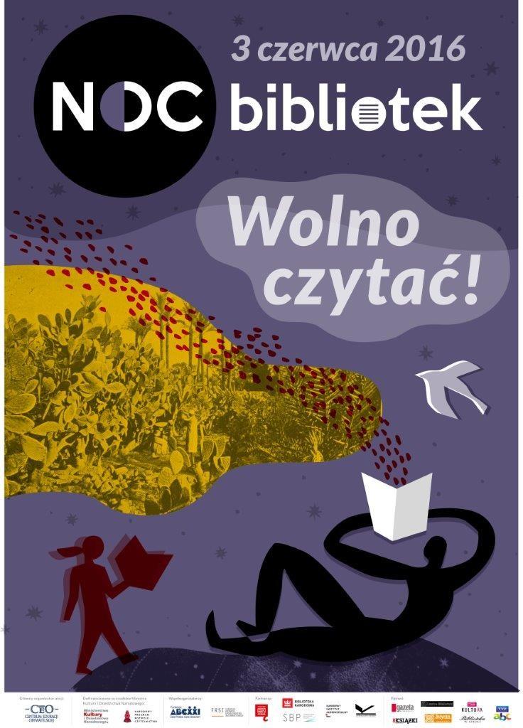 Noc Bibliotek_Wronki_plakat bezprogramu (2)