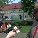 Dyrektor WOK-u Michał Poniewski oosiołku