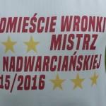 """""""Śródmieście"""" Wronki poraz trzeci zrzędu mistrzem Ligi Nadwarcieńskiej"""