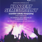 Koncert semestralny szkoły World of Music