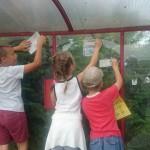 Wspólne sprzątanie przystanków