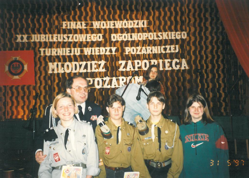 1997 Krajenka Młodz zapob pożarom 1