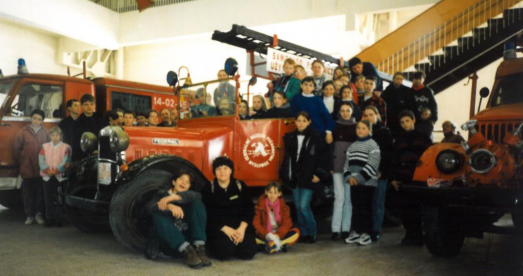 1998 NT zima muzeum pożarn Rakoniewice