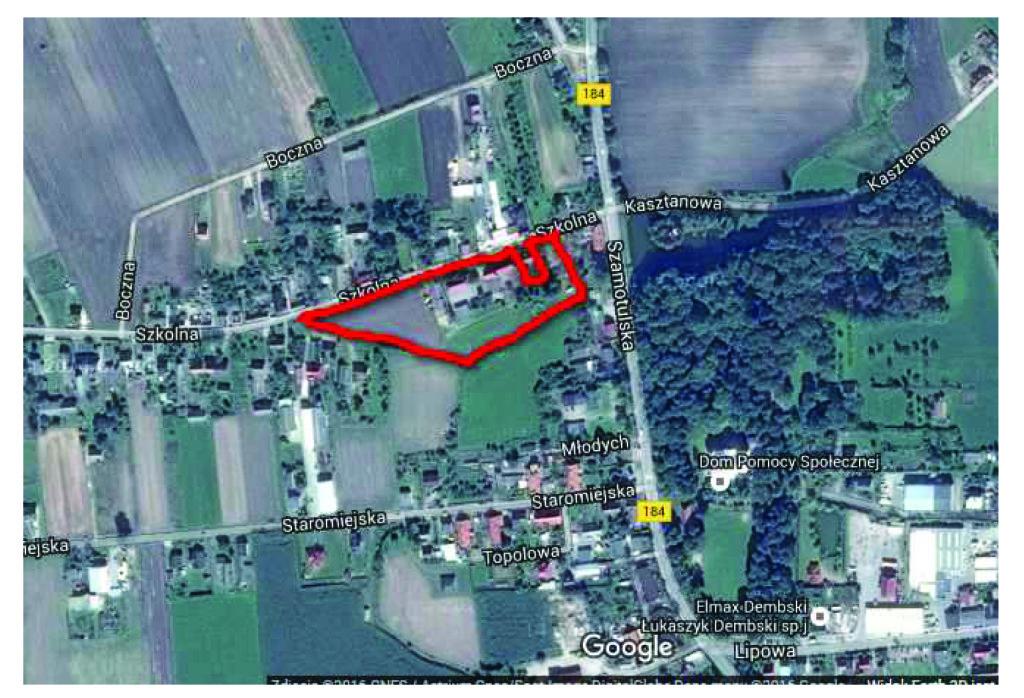 Nowa Wieś - lokalizacja