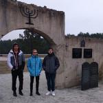 Wizyta uczniów ZS Nr2  wMuzeum Kulmhof wChełmnie