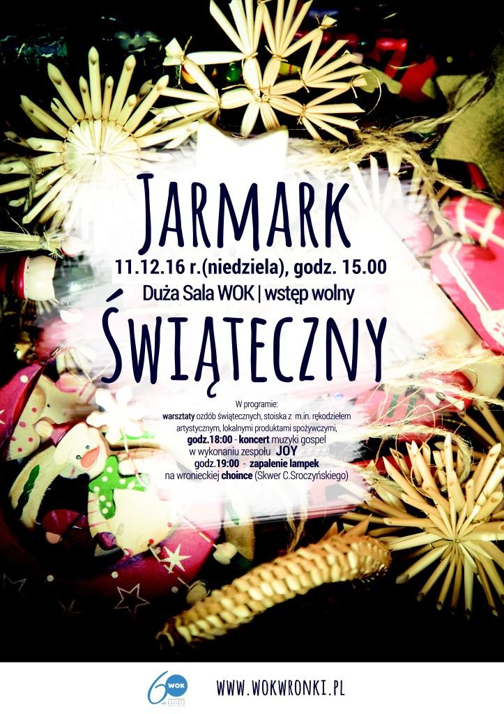 Jarmark ĹšwiÄ…teczny plakat2