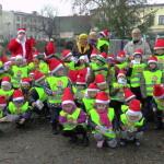 Mikołaj rozdawał cukierki przy Wronieckim Osiołku :)