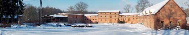 Panorama mniszki zima