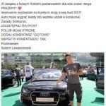 Lewandowski rozdaje samochody naFACEBOOKU?