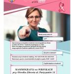 W środę zapraszamy nabezpłatne badania mammograficzne