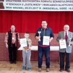 """Drużynowe Mistrzostwa Powiatu Szamotulskiego wSzachach o""""Złotą Wieżę"""" iwWarcabach Kasycznych"""
