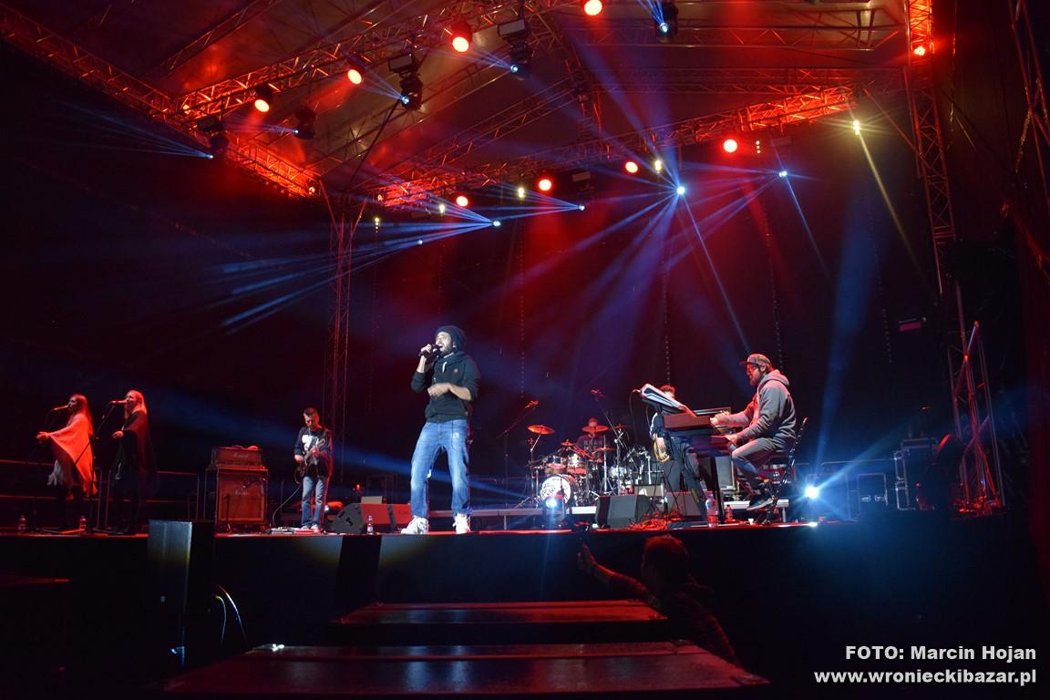 Koncert Mesajah podczas Dni Wronek 2017