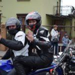 Parada motocykli podczas Dni Wronek