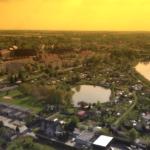 Słoneczne Wronki wobiektywie drona [WIDEO]