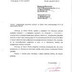 Ad vocem Burmistrza dopisma Starosty oobwodnicy