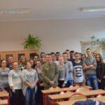Uczniów zKonarskiego odwiedził przedstawiciel WKU