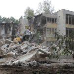OW Justynka Mierzyn – trwa wyburzanie legendarnego ośrodka wczasowego wMierzynie