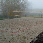 Powstało nowe boisko dosiatkówki plażowej