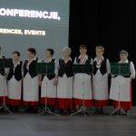 Chojanki śpiewały naXI Ogólnopolskiej Prezentacji Stołów Bożonarodzeniowych