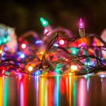Wronczanin podarował burmistrzowi świąteczne lampki