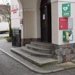 Defibrylator AED już wStarostwie Powiatowym wSzamotułach