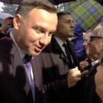 Prezydent Andrzej Duda wSzamotułach [WIDEO] [FOTO]