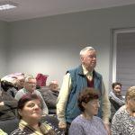 Zebranie mieszkańców Osiedla Zamość poraz pierwszy wnowej świetlicy [wideo]