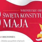 Obchody Święta Konstytucji weWronkach