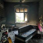 Tak wygląda mieszkanie popożarze – potrzebna dalsza pomoc