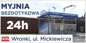 Avia Wronki myjnia ulica Mickiewicza