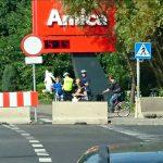 Most zamknięty również dla rowerzystów ipieszych