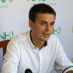 Konferencja prasowa burmistrza wsprawie zamknięcia mostu [wideo]