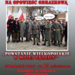 """Konkurs naopowieść obrazkową """"Powstanie Wielkopolskie wmojejokolicy"""""""