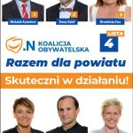 Koalicja Obywatelska Powiatu Szamotulskiego pozamiatała konkurencję!