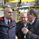 Wojewoda odwiedził fabrykę Amica