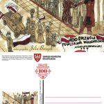 Szamotulanka autorką kartki pocztowej zokazji 100 rocznicy wybuchu Powstania Wielkopolskiego