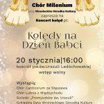 Niedzielny koncert dla Babć iDziadków wkościele naBorku