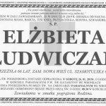 W sobotę pożegnamy Elżbietę Ludwiczak