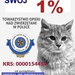 Wspomóż swoim 1% wronieckie Towarzystwo Opieki nadZwierzętami