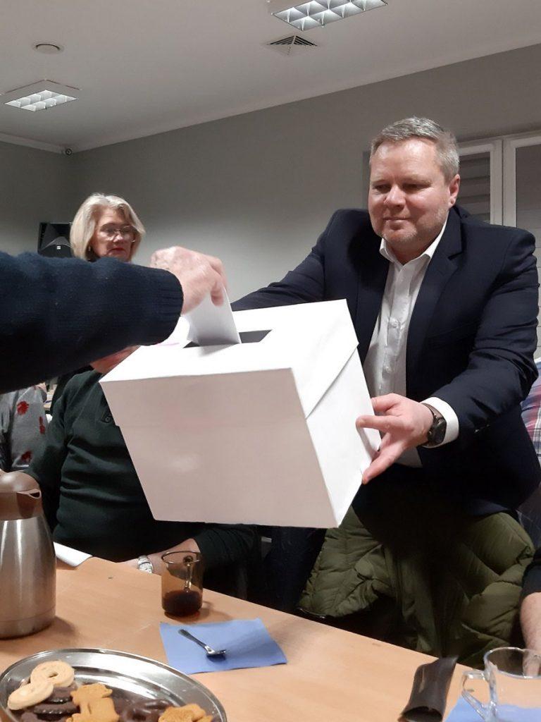 wybory sołeckie urna